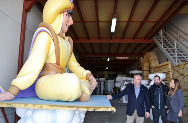 La Cabalgata de Reyes Magos estará inspirada en Hércules , Alicia en el País de las Maravillas y Aladdín - 2, Foto 2