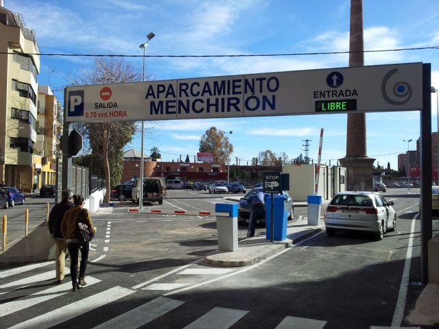 El aparcamiento Menchirón, que ha entrado en servicio esta mañana, ofrece 250 plazas de estacionamiento en pleno centro de la ciudad - 1, Foto 1