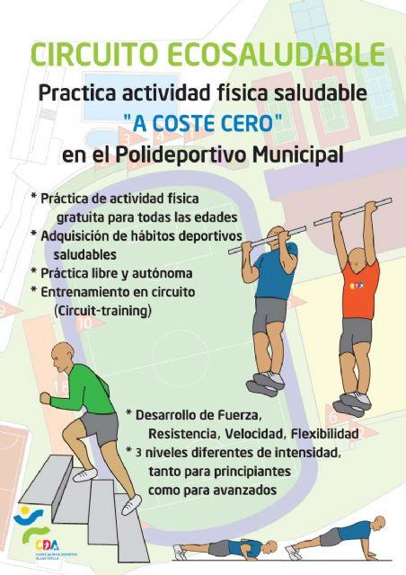 La concejalía de Deportes ofrece un circuito ecosaludable en las instalaciones del polideportivo municipal - 1, Foto 1