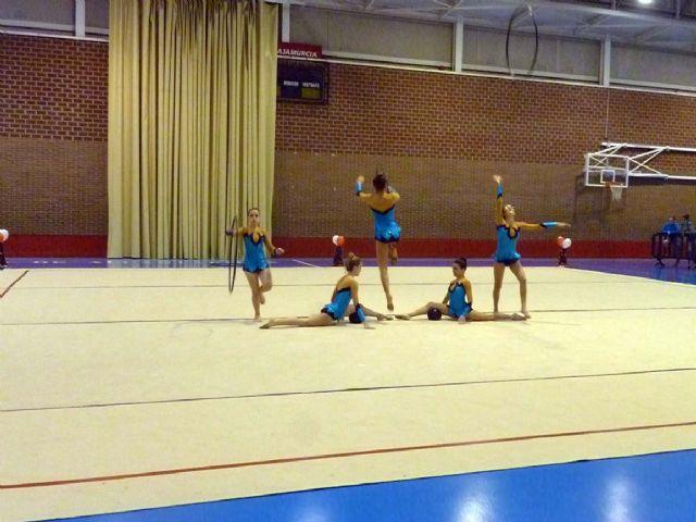 La Escuela Deportiva Municipal de Gimnasia Rítmica lleva a cabo una exhibición en la Navidad - 3, Foto 3