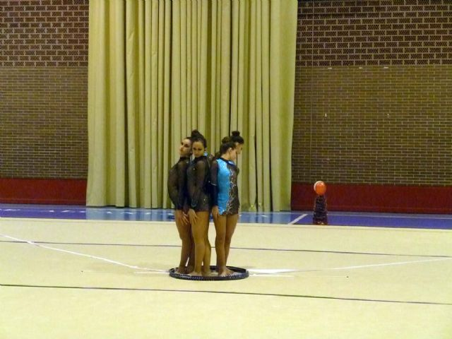 La Escuela Deportiva Municipal de Gimnasia Rítmica lleva a cabo una exhibición en la Navidad - 4, Foto 4