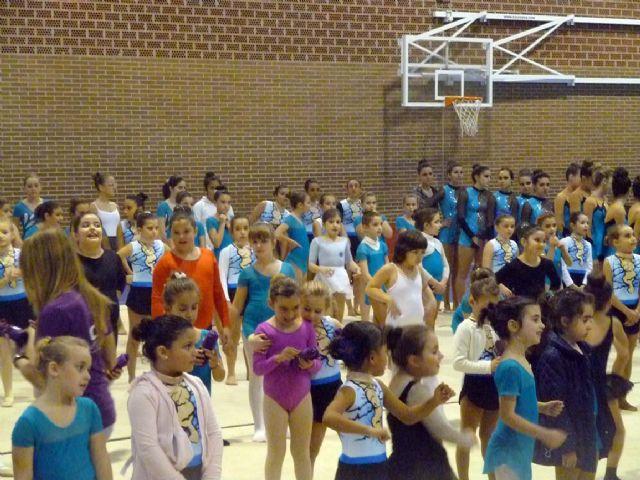 La Escuela Deportiva Municipal de Gimnasia Rítmica lleva a cabo una exhibición en la Navidad - 5, Foto 5