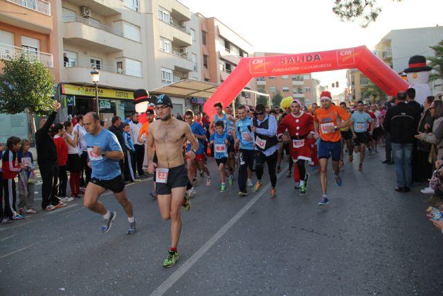 Puerto Lumbreras despide el año con la IV carrera popular solidaria 'San Silvestre' - 1, Foto 1