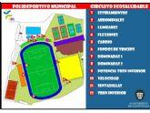 La concejalía de Deportes ofrece un circuito ecosaludable en las instalaciones del polideportivo municipal