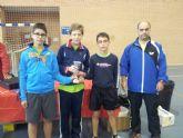 El C.D. Mazarr�n T.M. campe�n benjam�n y subcampe�n infantil en el Campeonato Regional por Equipos