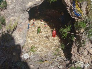 Instalado el belén de la Asociación de Amigos de la Naturaleza en las Yeseras de los Algezares - 4, Foto 4