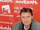 Saorín: 'El Alcalde tendría que preguntarse por qué el paro sube en Cieza mientras baja en toda España'