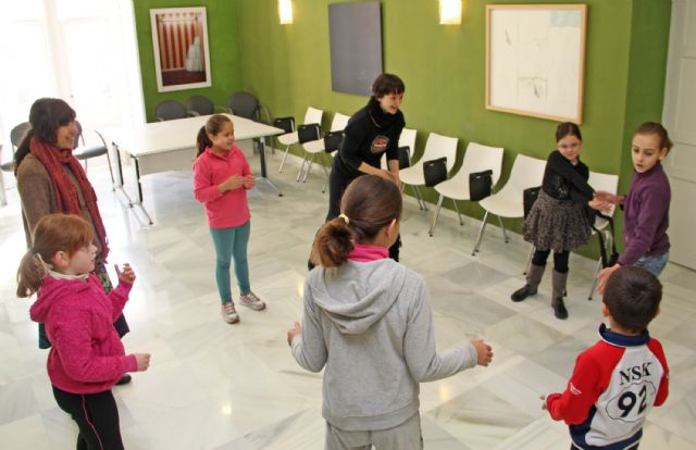 El taller de teatro para niños cierra el programa de Navidad de Puerto Lumbreras - 1, Foto 1