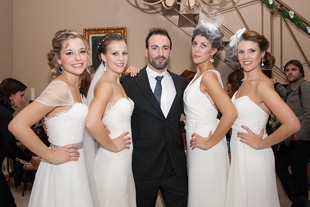 The totanera designer Fran Rios presented his couture collection
