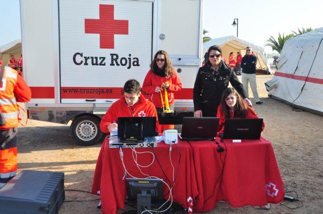 Los voluntarios de Cruz Roja Alhama idean una aplicación para la toma de datos en una gran emergencia que será implantada en todo el ámbito nacional, Foto 1