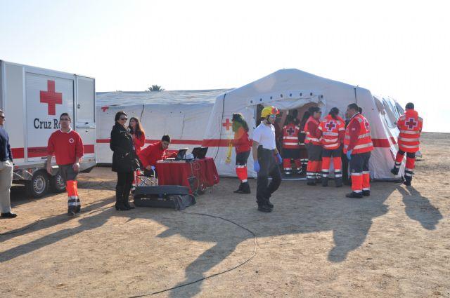 Los voluntarios de Cruz Roja Alhama idean una aplicación para la toma de datos en una gran emergencia que será implantada en todo el ámbito nacional, Foto 2