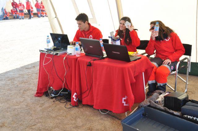 Los voluntarios de Cruz Roja Alhama idean una aplicación para la toma de datos en una gran emergencia que será implantada en todo el ámbito nacional, Foto 3