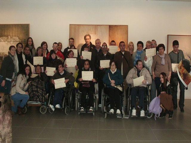 La Fundación Pedro Cano premia los dibujos de los usuarios del Centro de Día para Personas con Discapacidad - 1, Foto 1