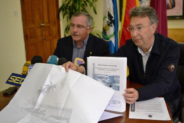El Ayuntamiento de Águilas pondrá en valor el Molino de Sagrera y su entorno - 1, Foto 1