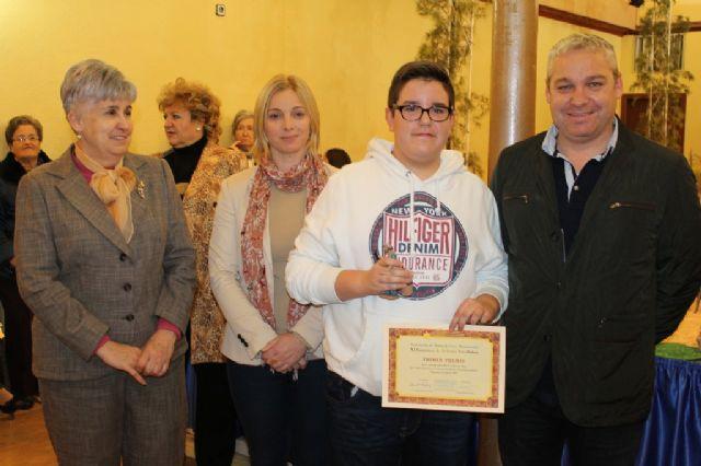 Entregados los premios del X concurso de belenes de la Asociación de Amas de Casa, Usuarios y Consumidores Almazarrón - 2, Foto 2