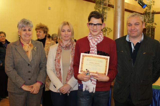 Entregados los premios del X concurso de belenes de la Asociación de Amas de Casa, Usuarios y Consumidores Almazarrón - 3, Foto 3
