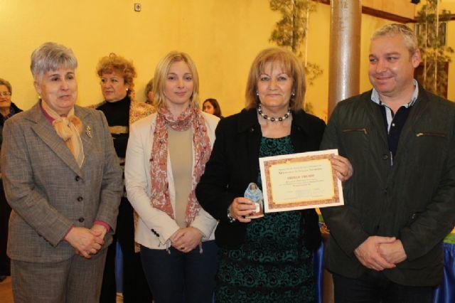 Entregados los premios del X concurso de belenes de la Asociación de Amas de Casa, Usuarios y Consumidores Almazarrón - 4, Foto 4