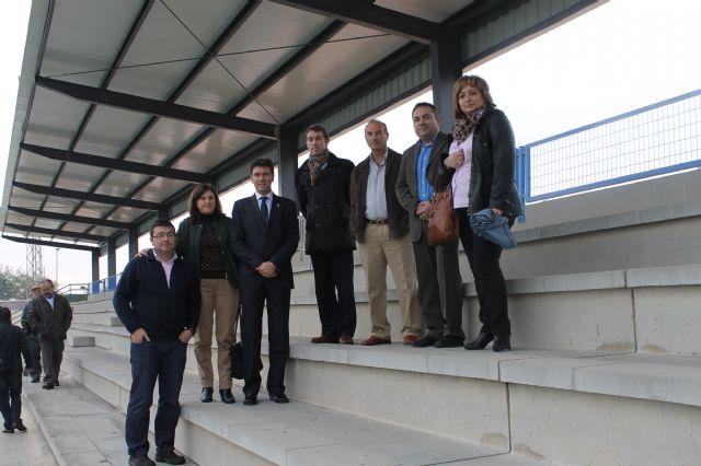 Las nuevas instalaciones del Gudalentín vienen a dar respuesta a una vieja demanda de deportistas y aficionados al fútbol, Foto 3