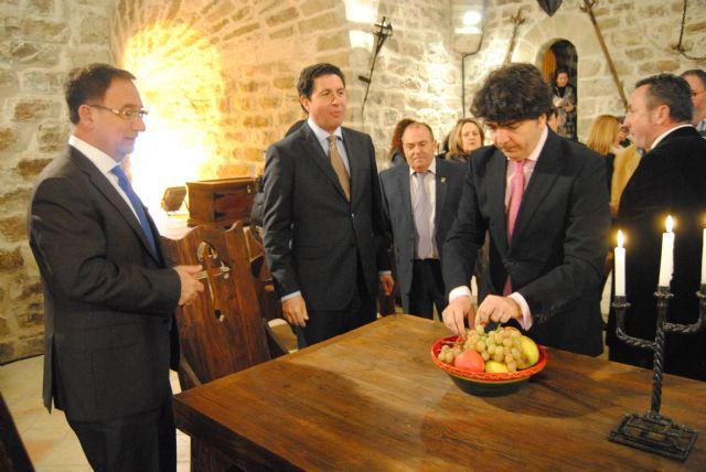 El subsecretario de Fomento inaugura las obras de rehabilitación del Castillo de Moratalla - 2, Foto 2