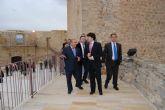 El subsecretario de Fomento inaugura las obras de rehabilitación del Castillo de Moratalla