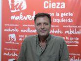 Saorín: 'En diciembre se destruyeron 317 empleos en Cieza, según los datos de afiliación de la Seguridad Social'