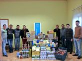 NNGG del PP de Archena consigue más de 400 kilos de alimentos para Cáritas