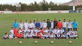 Comienza la nueva temporada de la Escuela Socio-Deportiva de Fútbol del Real Madrid en Puerto Lumbreras