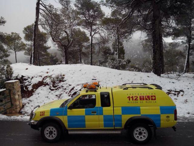 Caen las primeras nieves del 2014 en Sierra Espuña, Foto 2