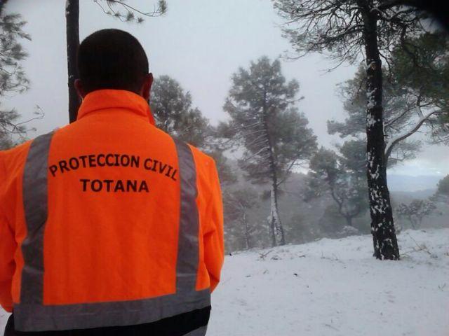 Caen las primeras nieves del 2014 en Sierra Espuña, Foto 3