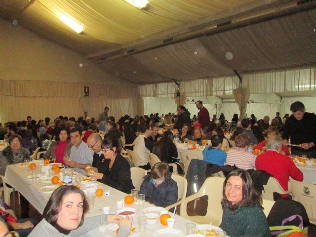 Cena del Hambre en la Parroquia de San Javier - 1, Foto 1
