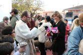 Los animales reciben su tradicional bendici�n por San Ant�n