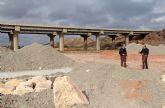 La Confederación Hidrográfica del Segura invierte más de 41.000 euros en obras de mejora en la rambla de Nogalte de Puerto Lumbreras