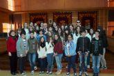 El Alcalde de Molina de Segura recibe a los alumnos del IES Vega del Táder que participan en el proyecto internacional Vivir la Paz