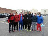 Atletas del Club Atletismo Totana participaron en la Maratón de Santa Pola 2014