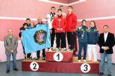 El Club Tae Kwon-Do Mazarr�n consigue 3 oros en el Campeonato Regional Junior