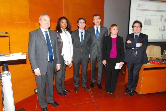 El consejero de Industria presidió el acto de presentación de la primera Plataforma on-line de Ingenieros Mediadores de España - 1, Foto 1