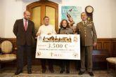 El Cross de la Artillería dona 3.500 euros a la lucha contra el cáncer