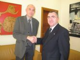 El consejero Manuel Campos se reúne con el alcalde de San Javier