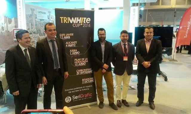 San Javier acogió en FITUR la presentación de la TriWhite Cup 2014, que comenzará en el municipio en 12 de abril - 1, Foto 1