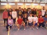 Totana acogió el pasado fin de semana la fase regional de bádminton y orientación de Deporte Escolar