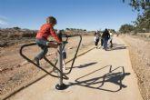 La CHS acondiciona una vía verde en la rambla en Molinos Marfagones
