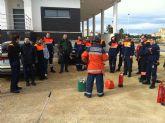 Emergencias imparte un curso de prevención de incendios a más una veintena de voluntarios