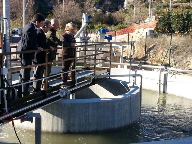 La nueva depuradora de El Berro dará servicio a una población de 1.200 habitantes de las zonas diseminadas más altas de la Región, Foto 1