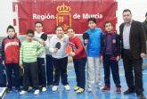 Campeonato Regional de Tenis de Mesa de Deporte Escolar en Alguazas