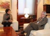 La Alcaldesa se reúne con el Presidente para analizar el nuevo proyecto del Parador de Puerto Lumbreras