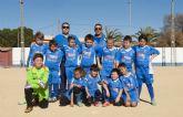 Los peques del UCAM Ciudad Jardín alcanzan los 154 goles en la liga local