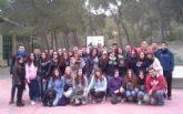 Corresponsales juveniles de los IES 'Prado Mayor' y 'Juan de la Cierva' participan en un encuentro
