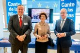 Valcárcel lleva hasta Bruselas el éxito en la gestión cultural y la promoción internacional del Festival del Cante de las Minas de La Unión