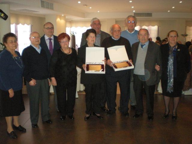 El Club de Pensionistas y Jubilados homenajea a José Jiménez y Lucía Fernández como socios de mayor edad - 1, Foto 1