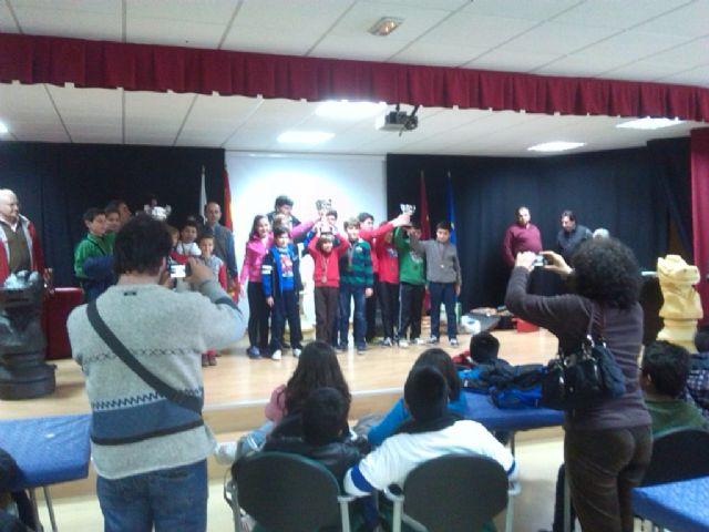 El colegio Santa Eulalia consiguió en tercer puesto en la final regional de ajedrez de Deporte Escolar, Foto 1